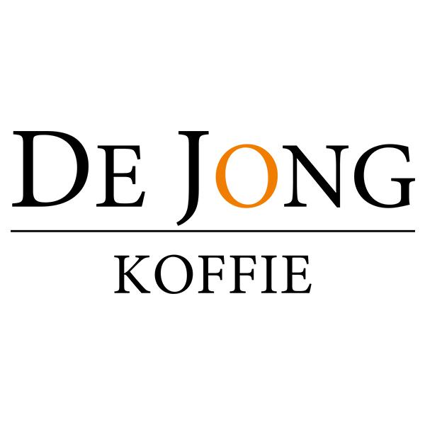 Logo van de jong koffie