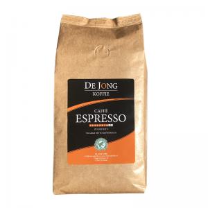 De Jong Koffie Caffe Espresso verse koffiebonen