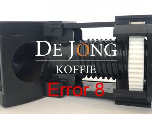 Jura error 8 reparatie in Soest